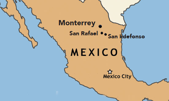 Teens hope to build relationships on mission trip to Mexico The – Map Monterrey Mexico