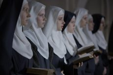 "This is a scene from the movie ""The Innocents."" The film is about a group of Benedictine nuns in Warsaw, Poland, after World War II and a French doctor who comes to their aid. (CNS photo/Music Box Films)"