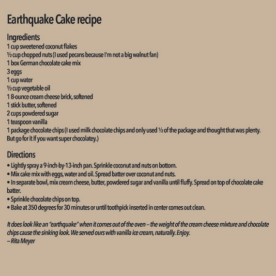 earthquake-recipe