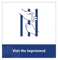 Corporal works of mercy -- Visit the imprisoned (CNS logo/Malcolm Grear Designers) Editors: Part of a series of logos for use with stories about the Jubilee Year of Mercy. (CNS logo/Malcolm Grear Designers) Editors: Part of a series of logos for use with stories about the Jubilee Year of Mercy.
