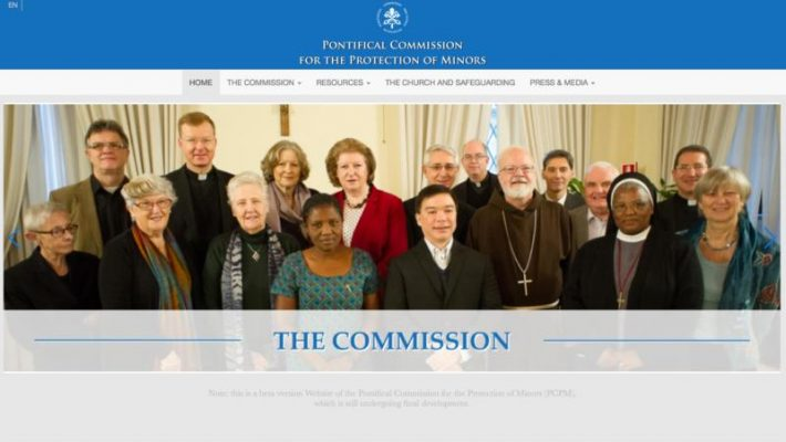 The Pontifical Commission for the Protection of Minors has launched a beta version of its website in English. The website -- www.protectionofminors.va -- eventually will include versions in Spanish, Italian, Portuguese and French, the commission said in a statement Dec. 6.(CNS)
