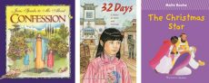 """These children's books are suitable for Christmas giving: """"Jesus Speaks to Me About Confession"""" by Angela M. Burrin, illustrated by Maria Cristina Lo Cascio; """"32 Days: A Story of Faith and Courage"""" by Ellen Lucey Prozeller; and """"The Christmas Star"""" by Maite Roche. The books are reviewed by Regina Lordan. (CNS)"""