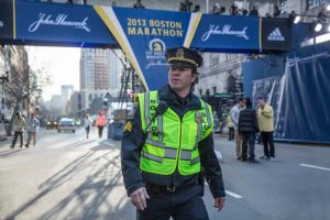 """Mark Wahlberg stars in a scene from the movie """"Patriots Day."""" The Catholic News Service classification is L -- limited adult audience, films whose problematic content many adults would find troubling. The Motion Picture Association of America rating is R -- restricted. Under 17 requires accompanying parent or adult guardian. (CNS photo/CBS Films)"""