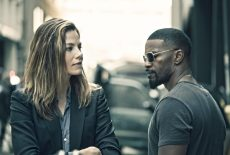 """Michelle Monaghan and Jamie Foxx star in a scene from the movie """"Sleepless."""" The Catholic News Service classification is L -- limited adult audience, films whose problematic content many adults would find troubling. The Motion Picture Association of America rating is R -- restricted. Under 17 requires accompanying parent or adult guardian.(CNS photo/Open Road Films)"""