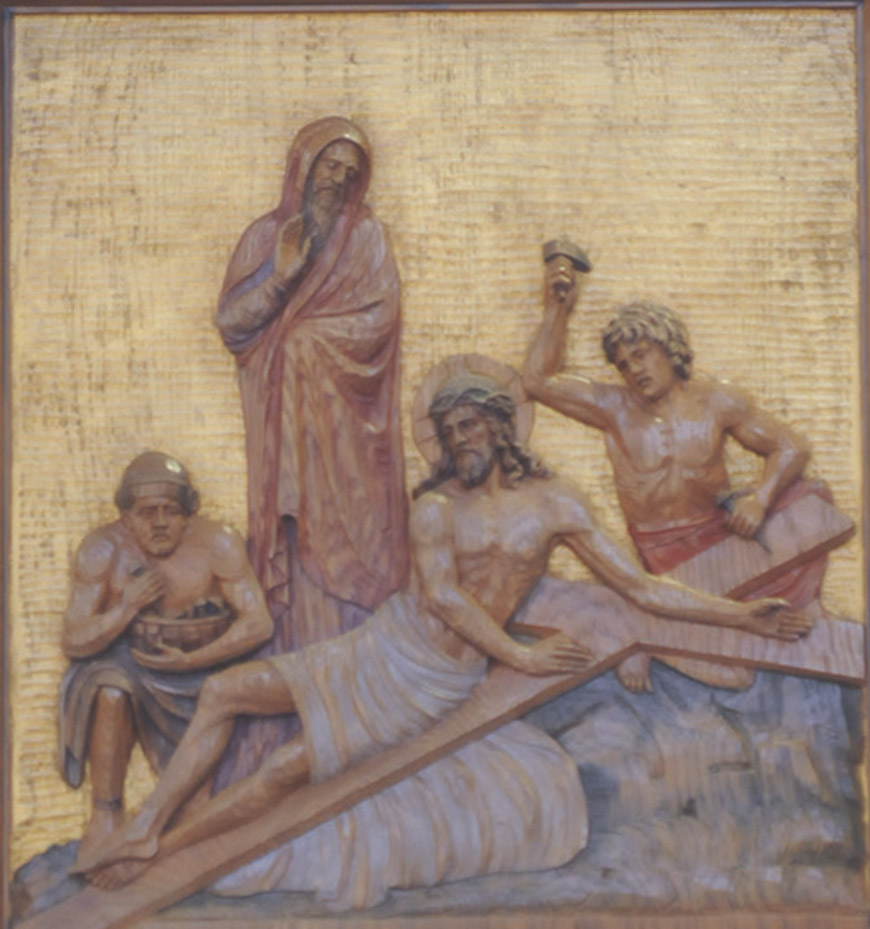 Eleventh Station: Jesus is Nailed to the Cross - The Visitor