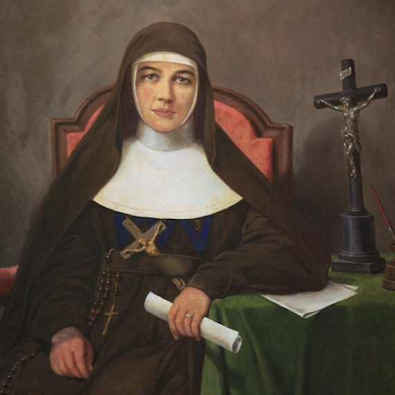 a biography of mary helen mackillop an australian religious role model Mary helen mackillop was born on australian $1 mary mackillop novelist pamela freeman's the black dress is a fictionalised biography of mackillop's.