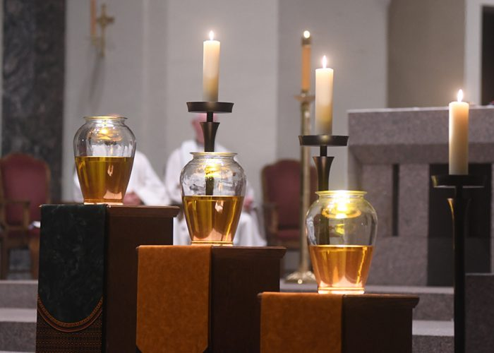 Chrism Mass homily: May holy oils bring healing, closer